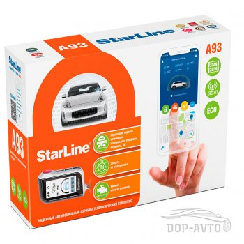Автосигнализация StarLine A93 2 CAN+2 LIN ECO