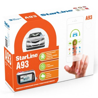 StarLine A93 2CAN+LIN GSM ECO